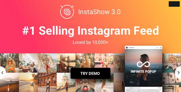 Instagram Feed – Instagram 图片墙相册插件 – v4.0.1