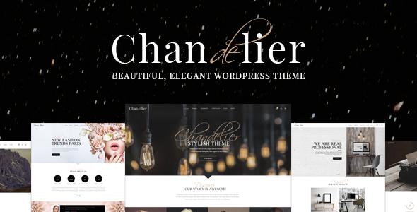Chandelier – 品牌设计网站模板WordPress主题 – v1.11