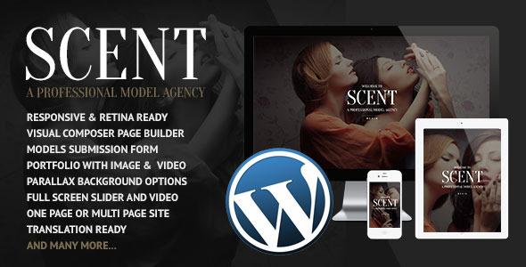 Scent 模特代理机构WordPress主题 – v3.4.3