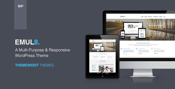 响应式HTML5高端企业公司WordPress汉化主题