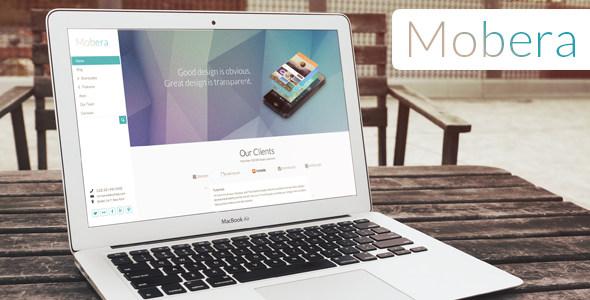 Mobera 手机APP应用展示 WordPress主题
