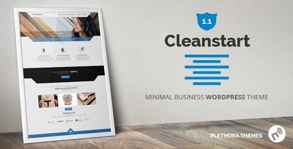 CLEANSTART 多用途/企业 WordPress主题 v1.5.5