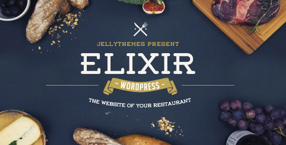 Elixir 餐饮美食 WordPress主题 [v1.3]