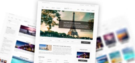 SixtyOne 酒店/预订 WordPress主题模板
