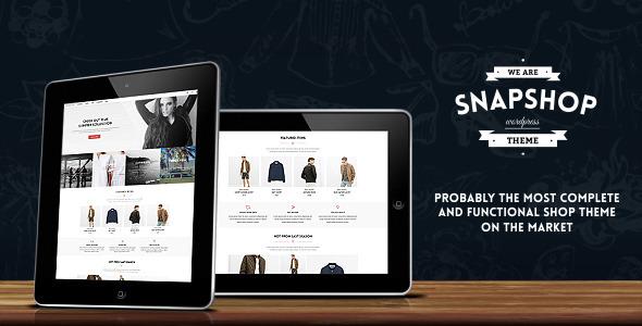 Snapshop WooCommerce购物商城WordPress主题 – v1.1.1
