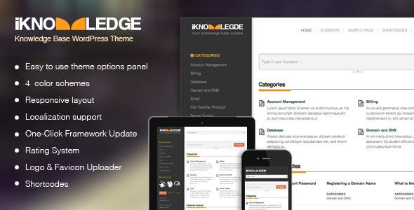 Knowledge Base – 维基百科WordPress主题 – v1.5.3