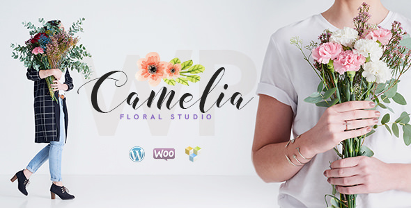 Camelia – 鲜花绿植花艺网站WordPress主题 – v1.2.4