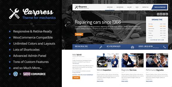 Carpress WordPress主题[更新至v1.10.0]