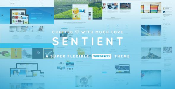 Sentient 多用途 WordPress商业主题