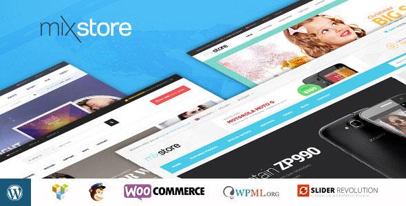 MixStore 多用途购物商城 WooCommerce主题
