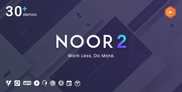 Noor – 创意可定制网站WordPress主题 – v5.5.2.5