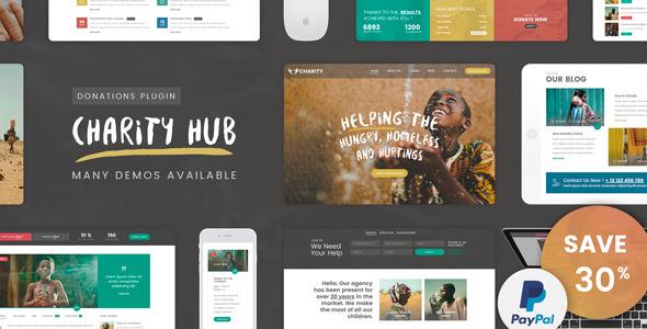 Charity Foundation – 公益慈善中心WordPress主题 – v1.8