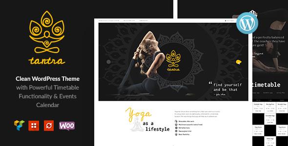Tantra – 瑜伽健身俱乐部 WordPress 主题 – v1.0.4