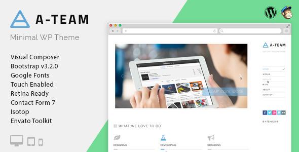 A-TEAM v3.4.0 极简博客 WordPress主题