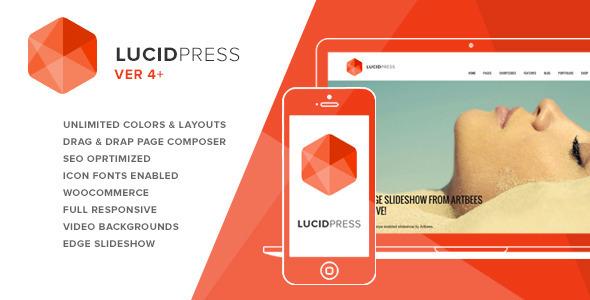 Lucid Press 创意机构 wordpress主题 – v4.2