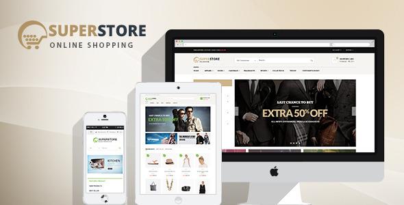 SuperStore 购物 WordPress主题[v1.4]