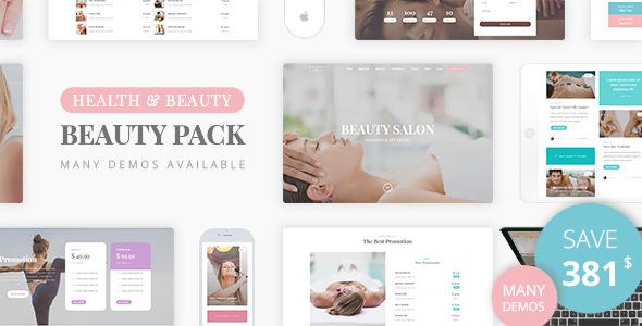 Beauty Pack – 水疗美容按摩WordPress主题 – v1.6