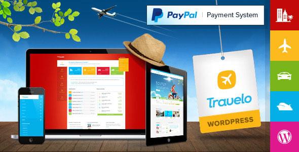 Travelo 旅游线路预订 WordPress主题 v1.5.6