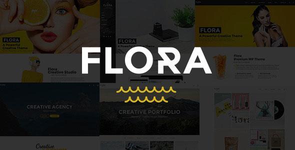 flora 创意多用途 WordPress主题 v1.1.5