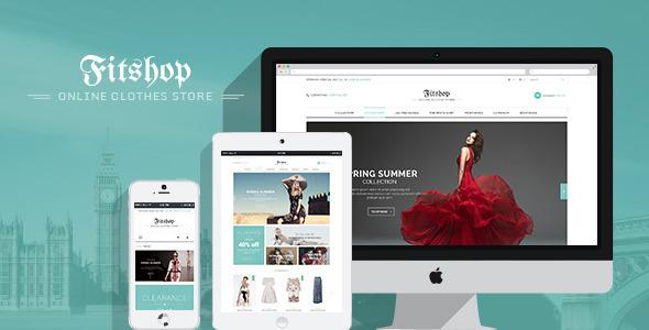 Fitshop 购物商城WordPress主题 – v1.9