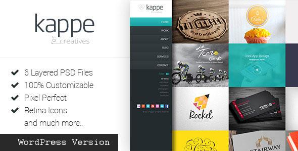 Kappe 全屏作品展示博客 WordPress主题 v2.1