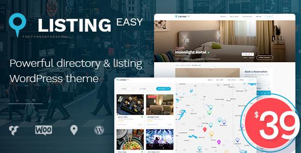 ListingEasy – 商家目录网站模板WordPress主题 – v1.6.2