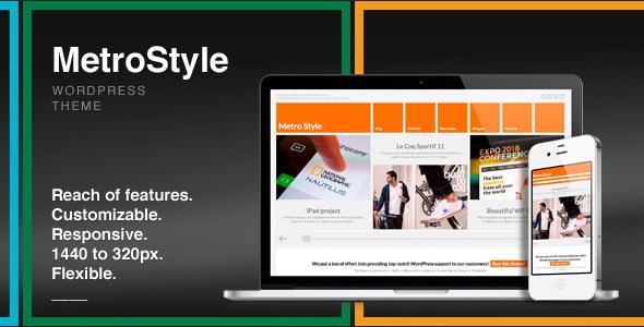 MetroStyle WIN8风格杂志 wordpress主题 – v1.5.3