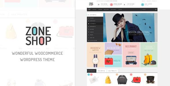 ZoneShop WooCommerce购物商城 WordPress主题 v1.1
