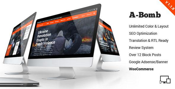 A-Bomb 新闻杂志 WordPress主题 [v1.1.7]