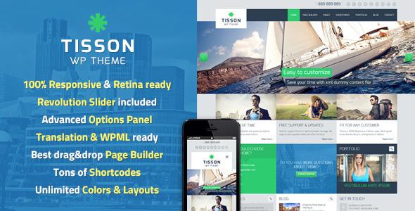 Tisson v1.4 – 时尚多用途WordPress主题