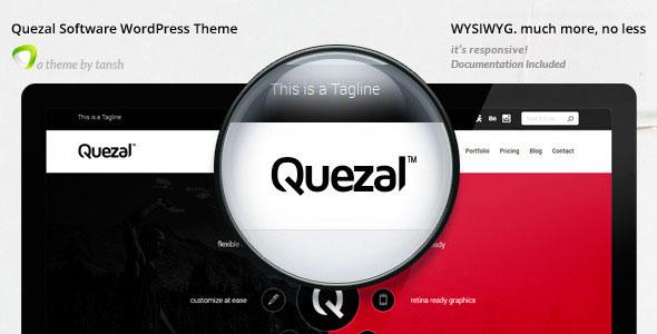 Quezal v2.6.0 – 软件 WordPress主题