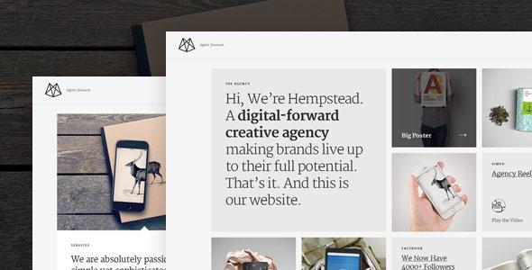 Hempstead 作品展示 WordPress主题 v1.2.3