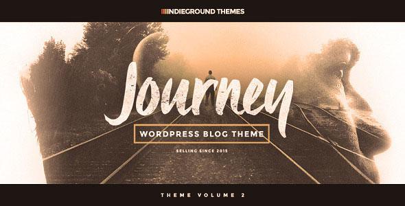 Journey 专业博客 WordPress主题 v2.0.7