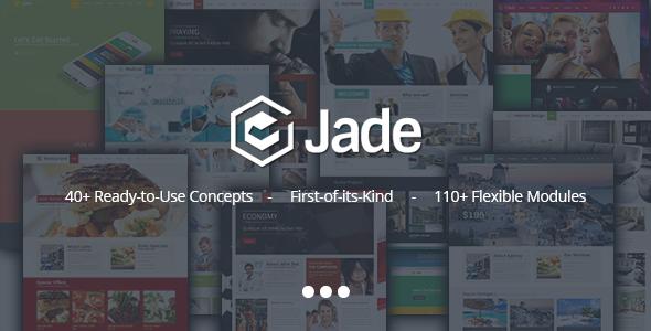 Jade 灵活多用途 WordPress主题[v1.2.1]