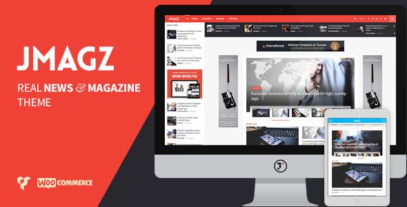 JMagz 科技新闻博客杂志WordPress主题 – v1.4