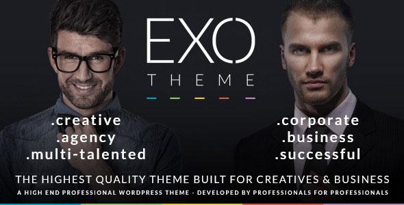 EXO 创意企业 WordPress主题[更新至v1.0.1]