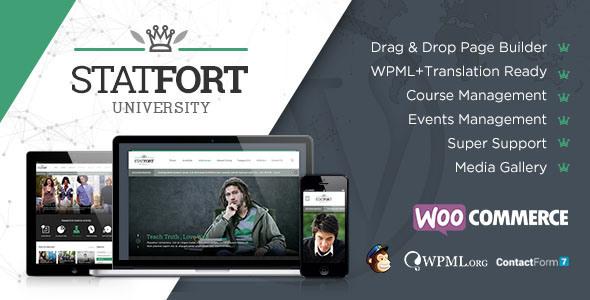 Statfort 教育学校 WordPress主题[更新至v1.5]