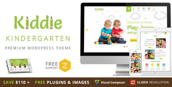 Kiddie 儿童婴儿幼教WordPress主题 – v4.1.7