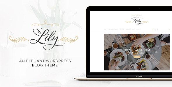 Lily 博客 WordPress主题 v1.4