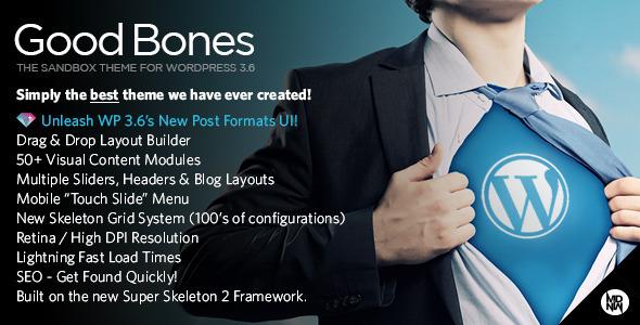 Good Bones 商务 WordPress主题 [更新至v3.2]
