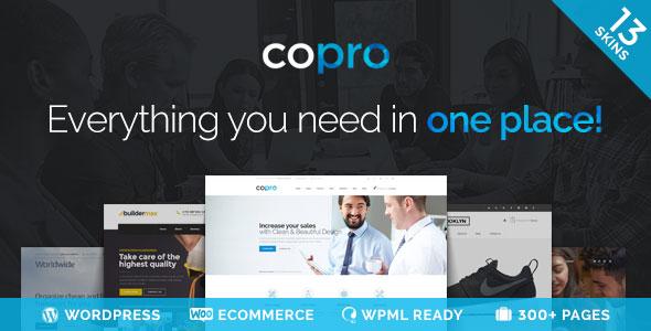 CoPro 自适应多用途 WordPress主题 v1.8