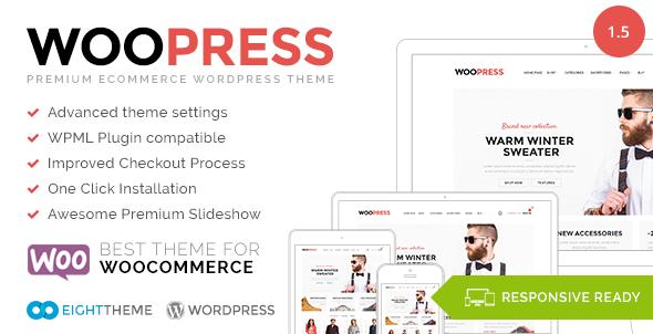 WooPress 电商购物WordPress主题 – v1.5