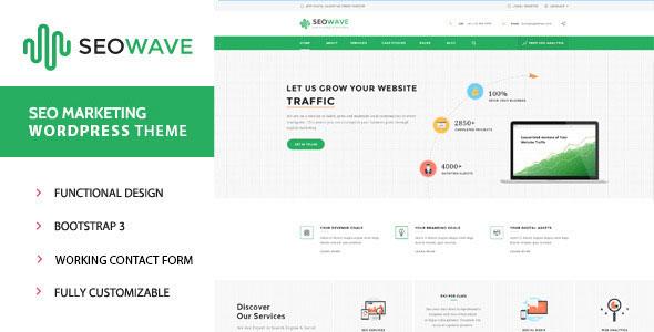 Seo Wave – 搜索SEO优化推广WordPress主题 – v1.3.2