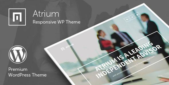 Atrium 单页视差WordPress主题 – v2.4
