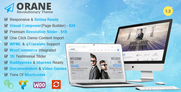 Orane 企业商务 WordPress主题 v1.3