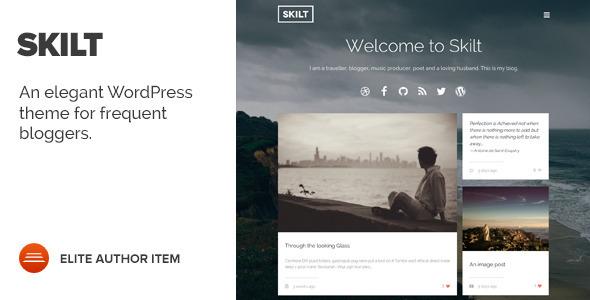 响应式 Skilt 博客 WordPress主题[更新至v1.0.8]