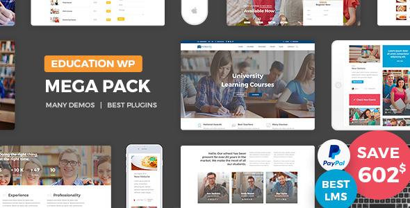 Education Pack – 教育培训课程学习WordPress主题 – v2.0
