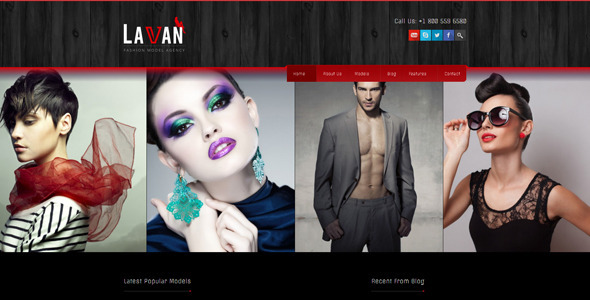Lavan 模特 WordPress主题[更新至v2.8.4]