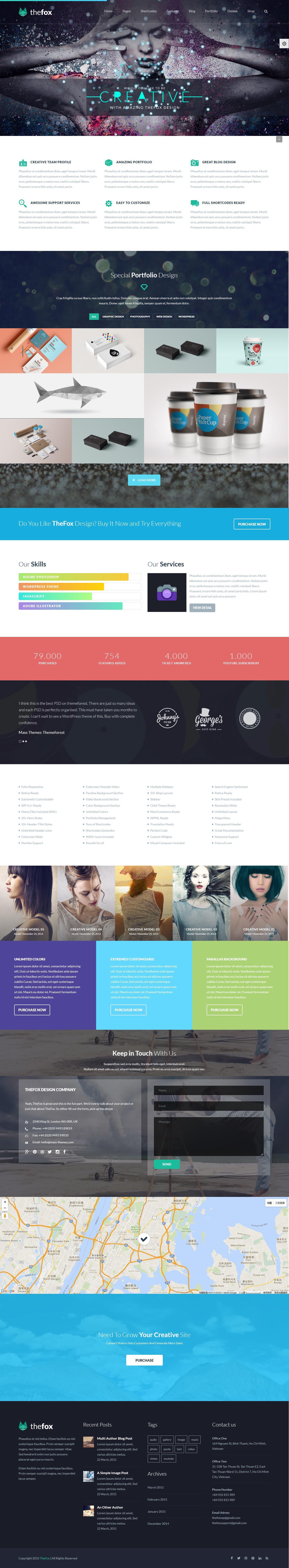 TheFox 多用途企业公司网站WordPress汉化主题 – v3.9.9.16