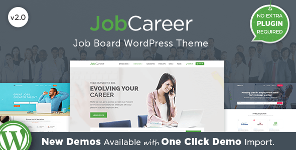 jobCareer 招聘求职网站WordPress主题 – v3.7